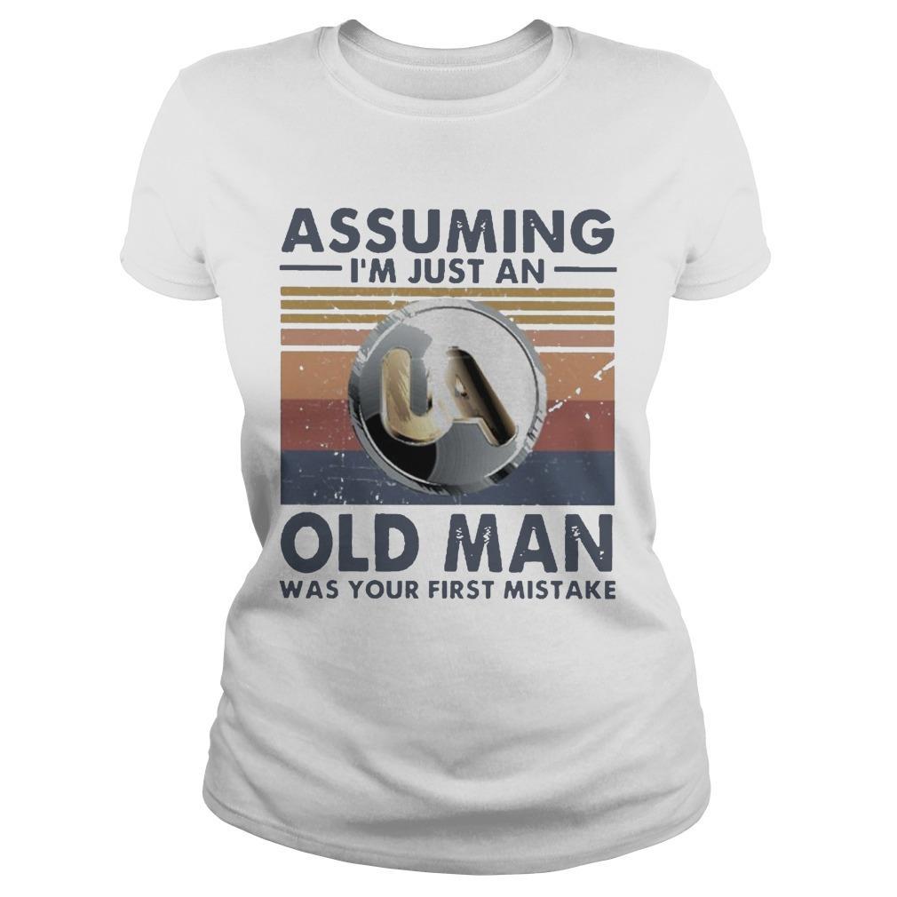 Vintage United Association Assuming I'm Just An Old Man Longsleeve