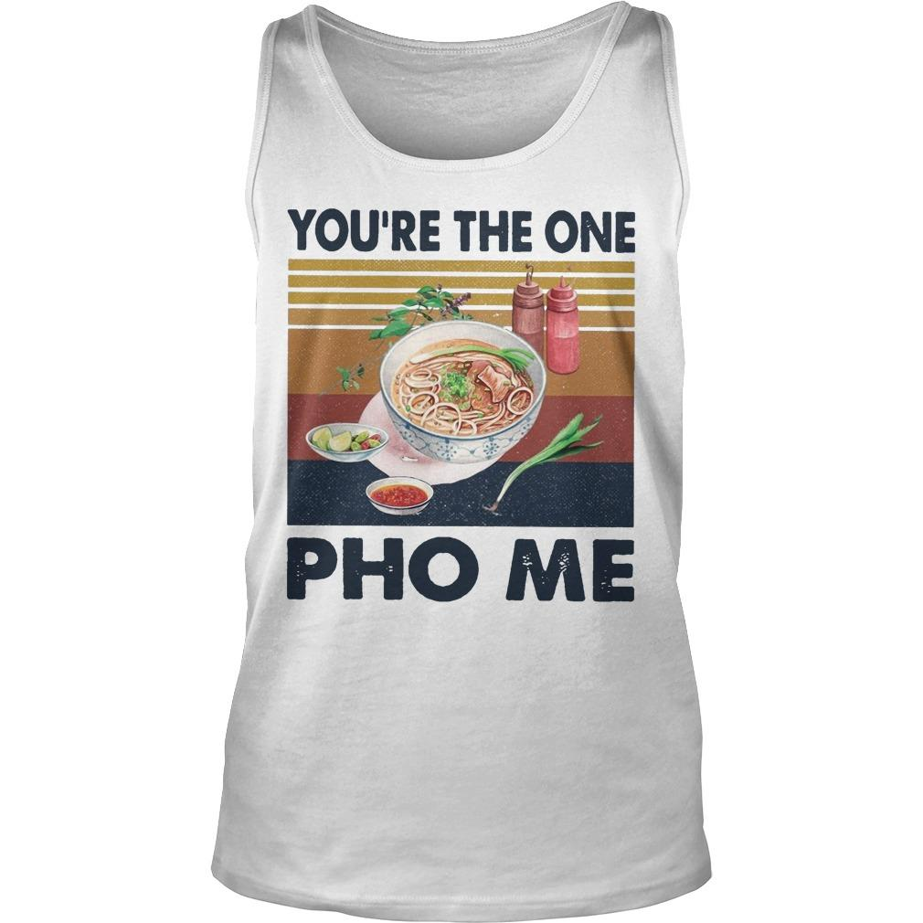 Vintage You're The One Pho Me Tank Top