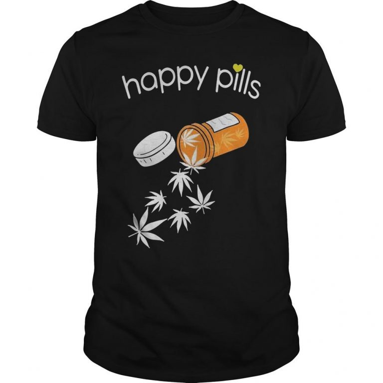 Weed Happy Pills Shirt
