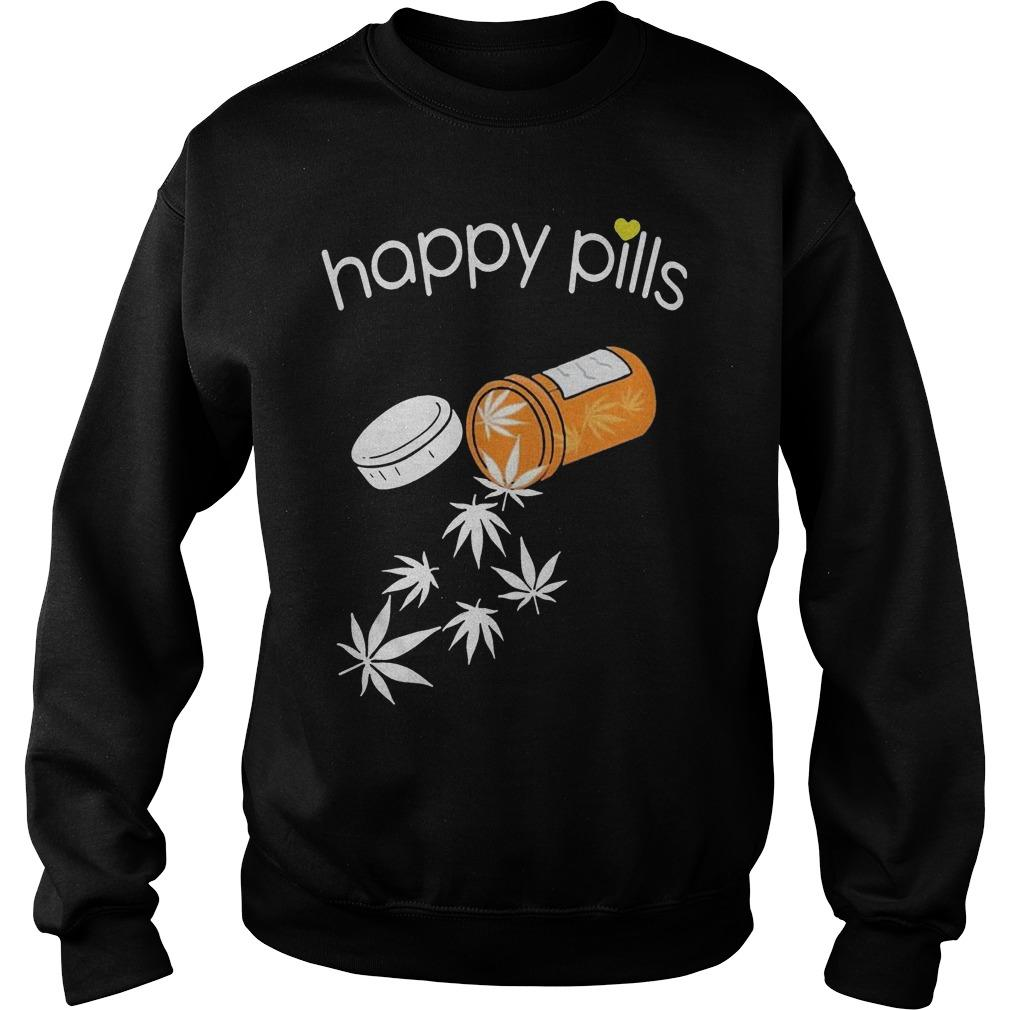 Weed Happy Pills Sweater
