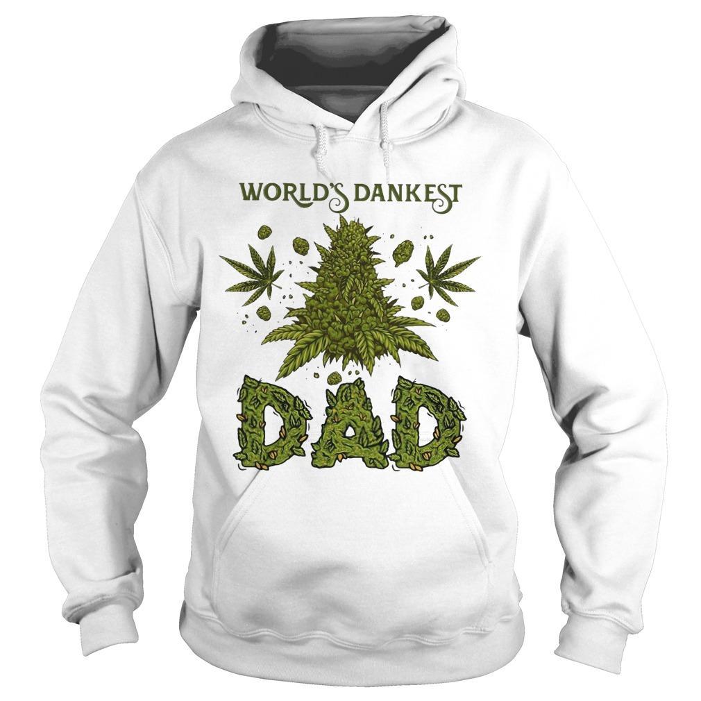Weed World's Dankest Dad Hoodie