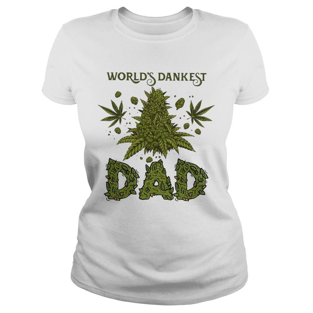 Weed World's Dankest Dad Longsleeve