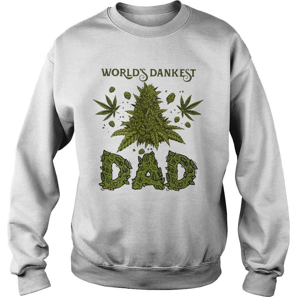 Weed World's Dankest Dad Sweater