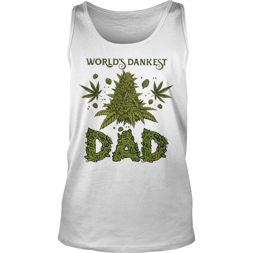 Weed World's Dankest Dad Tank Top