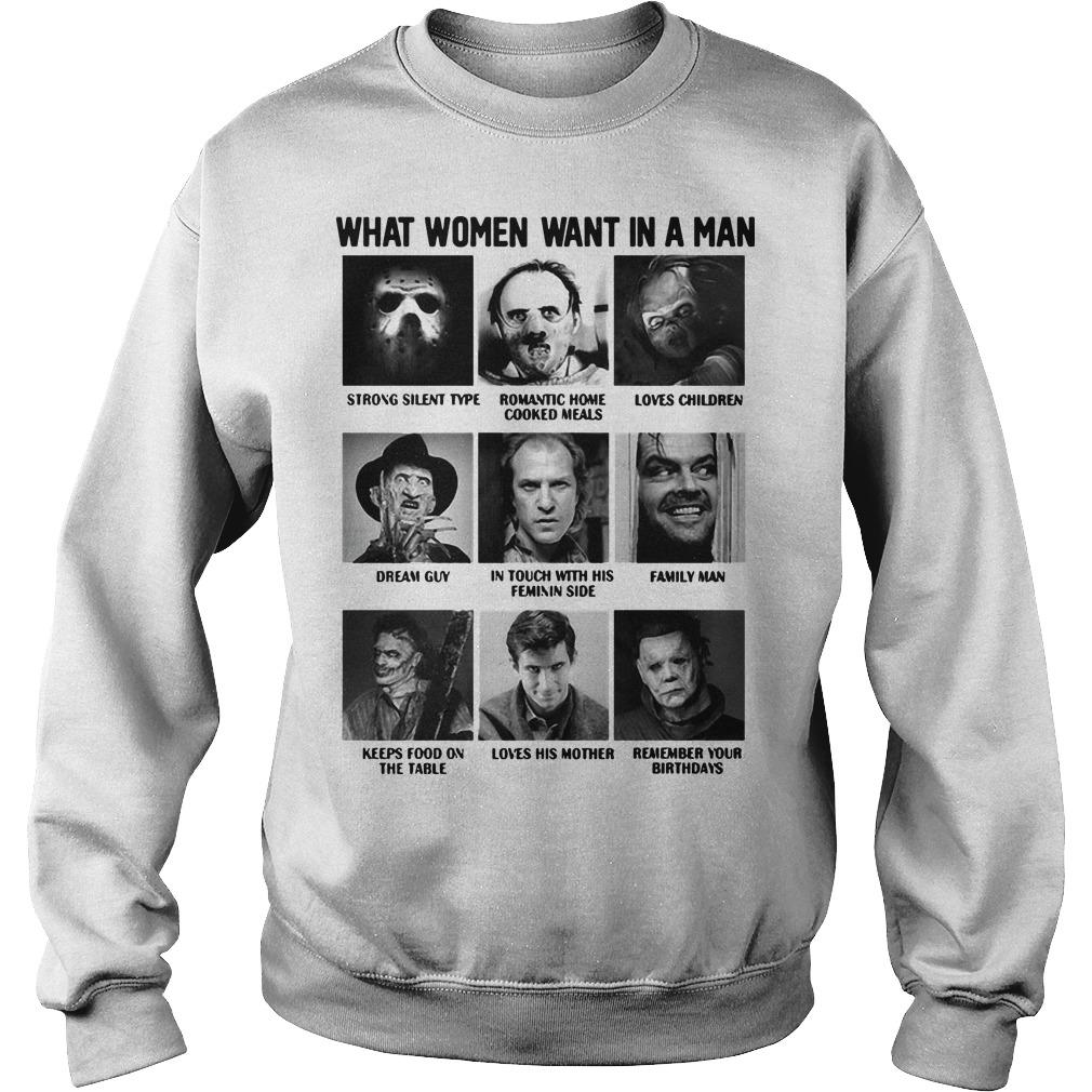 What Women Want In A Man Strong Silent Type Loves Children Sweater