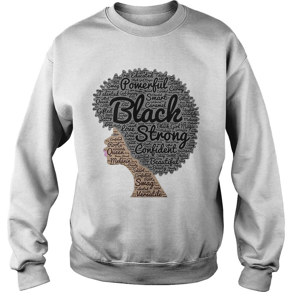 Woman Powerful Black Strong Confident Beautiful Sweater