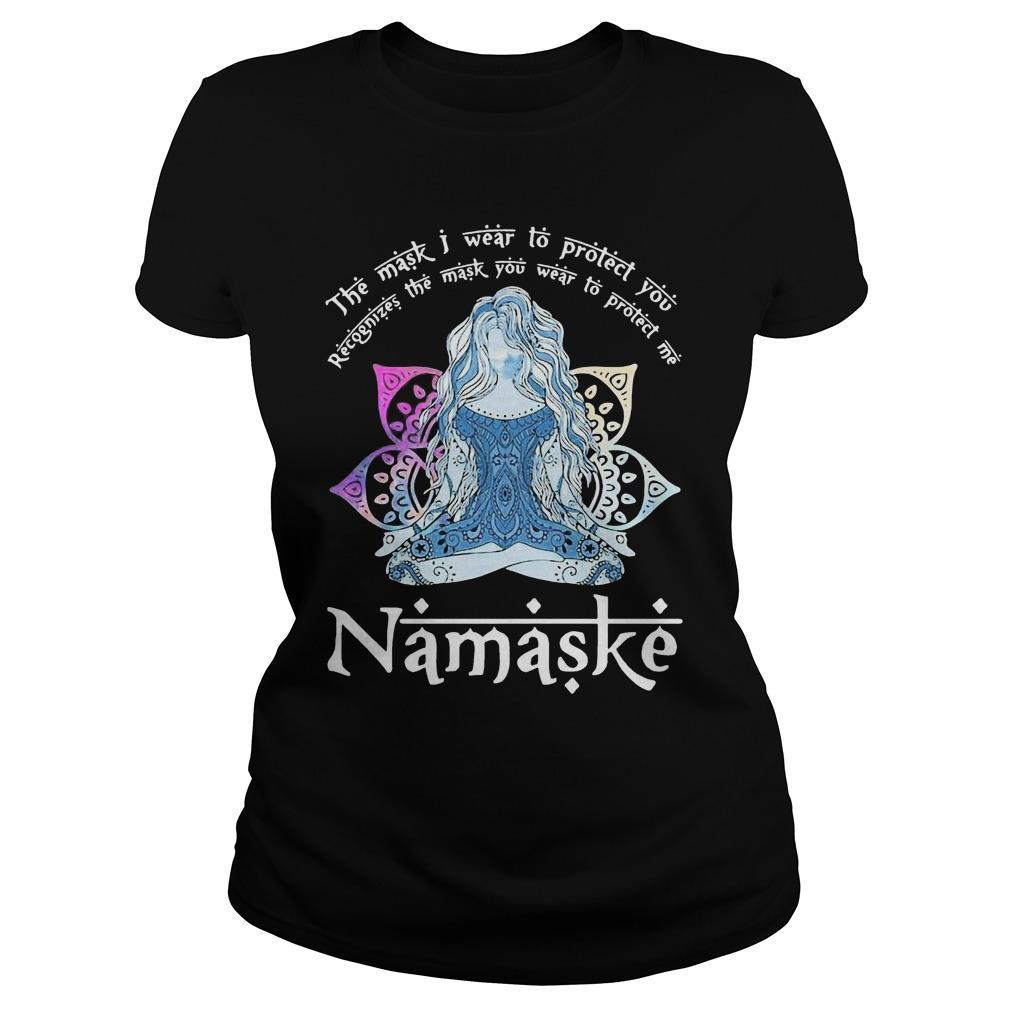 Yoga The Mask I Wear To Protect You Namaske Longsleeve