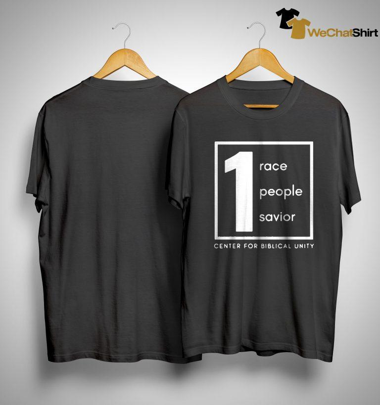 1 Race People Savior Center For Biblical Unity Shirt