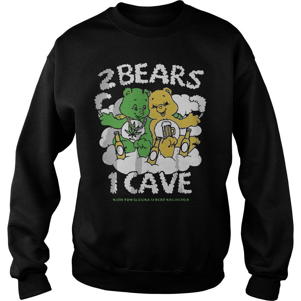 2 Bears 1 Cave With Tom Segura And Bert Kreischer Sweater