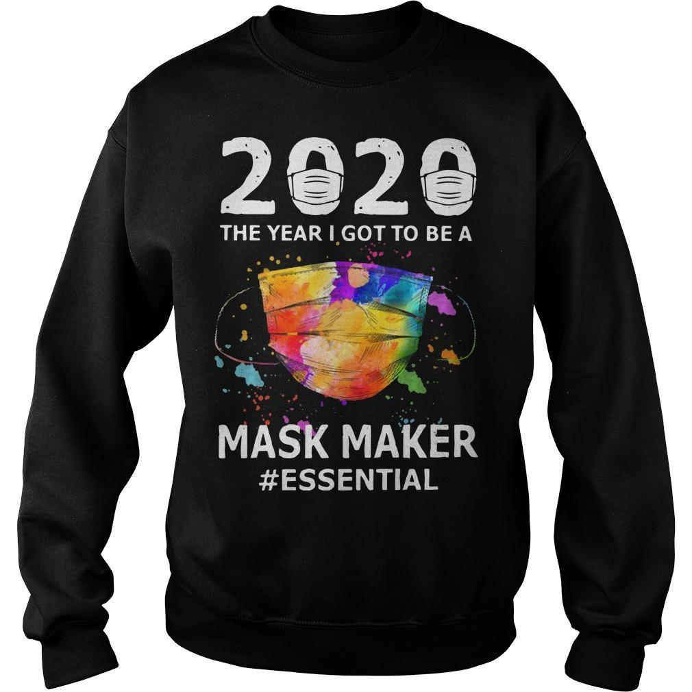 2020 The Year I Got To Be A Mask Maker #essential Sweater