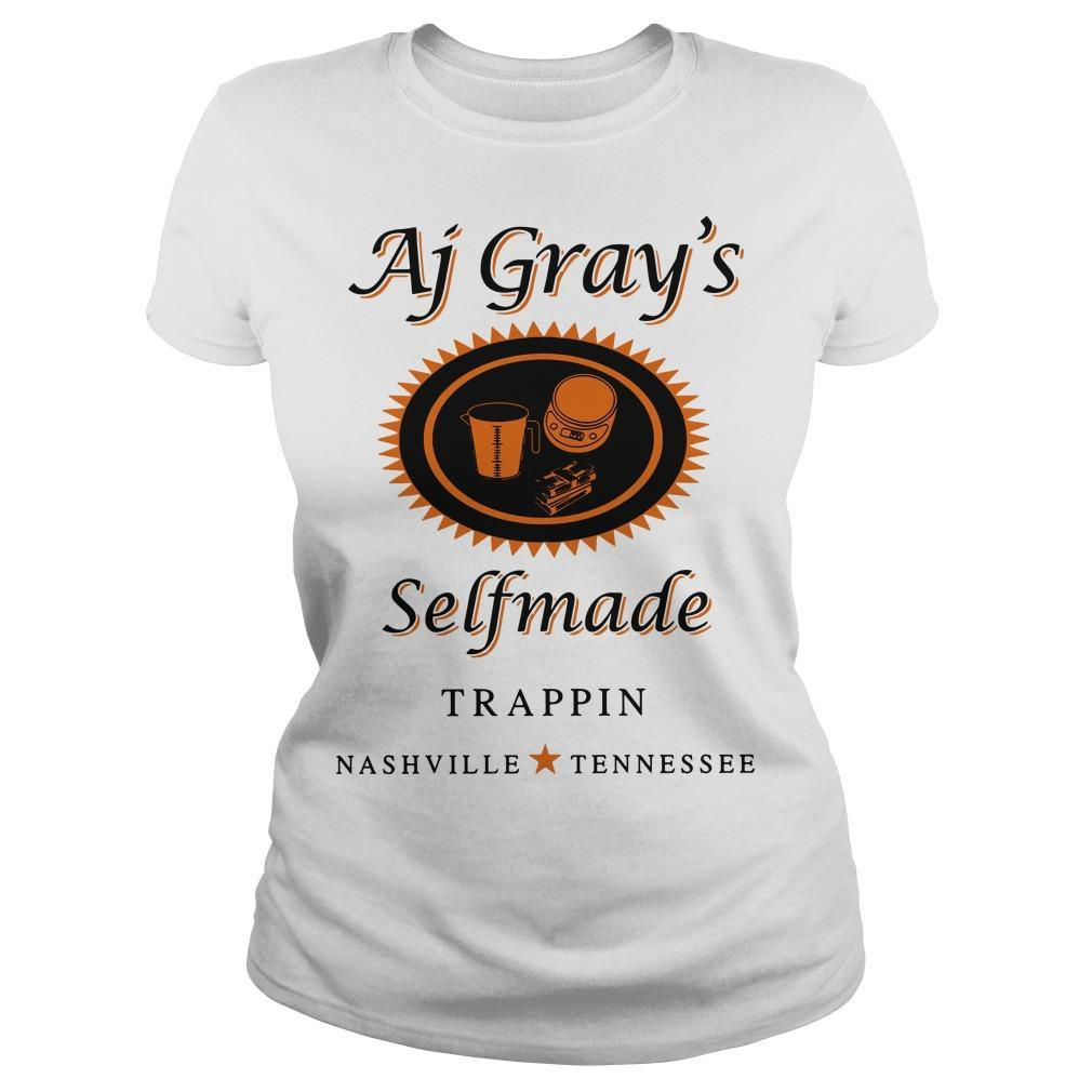 AJ Gray's Selfmade Trappin Nashville Tennessee Longsleeve