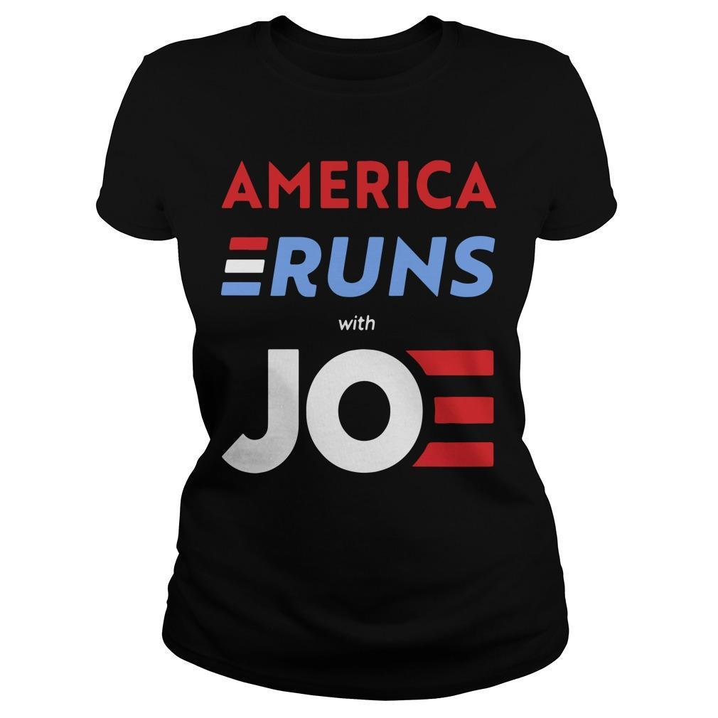America Runs With Joe Biden Longsleeve