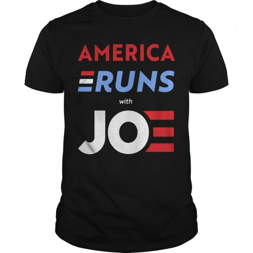 America Runs With Joe Biden Shirt