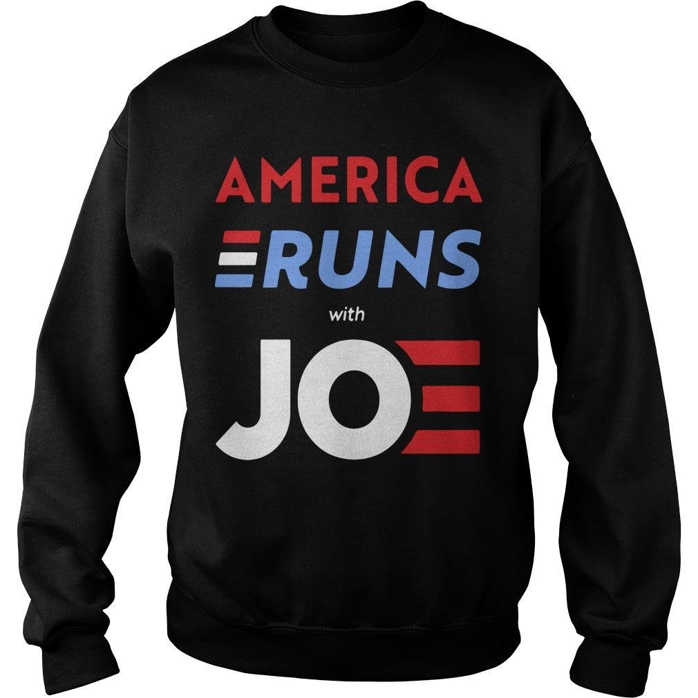 America Runs With Joe Biden Sweater