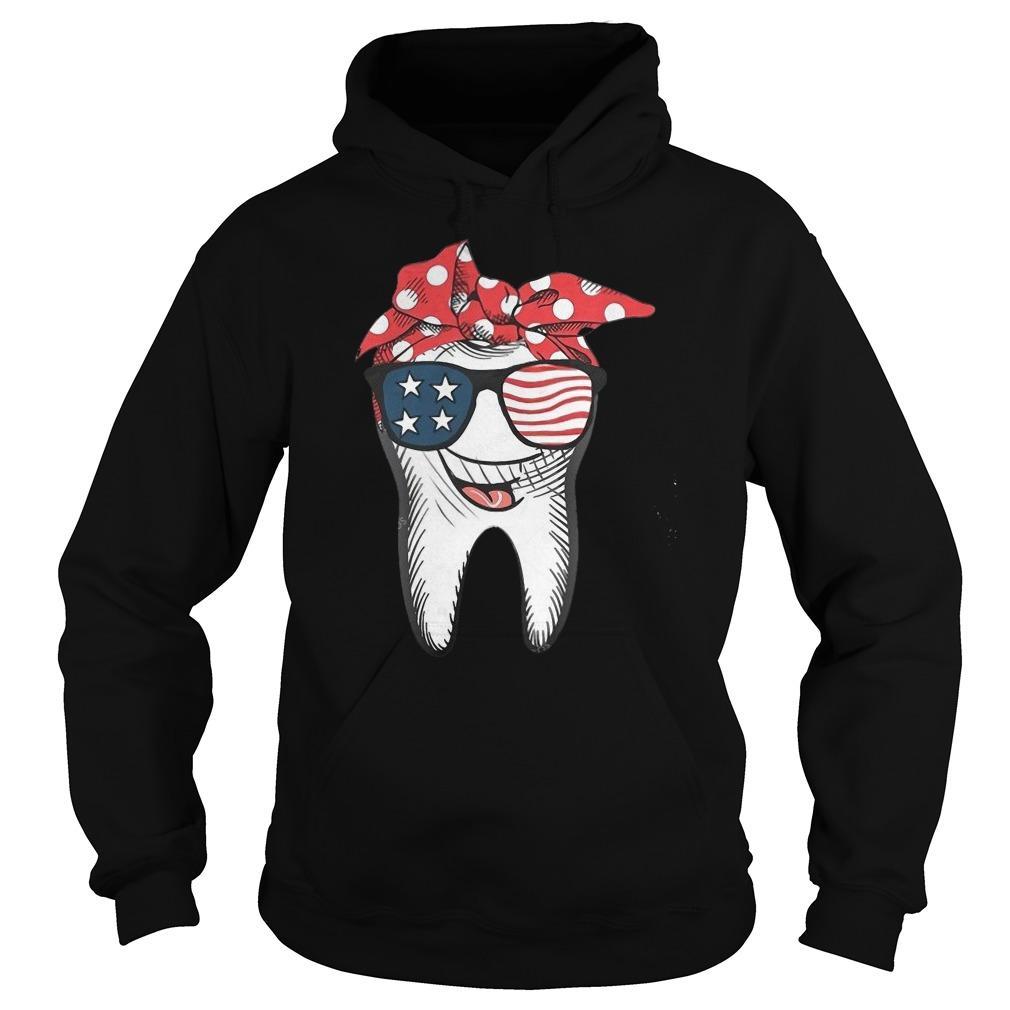 American Glasses Smiling Tooth Hoodie