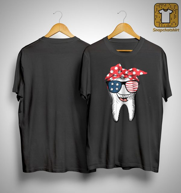American Glasses Smiling Tooth Shirt