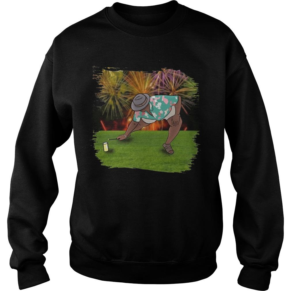 Anthony Adams Fireworks Sweater