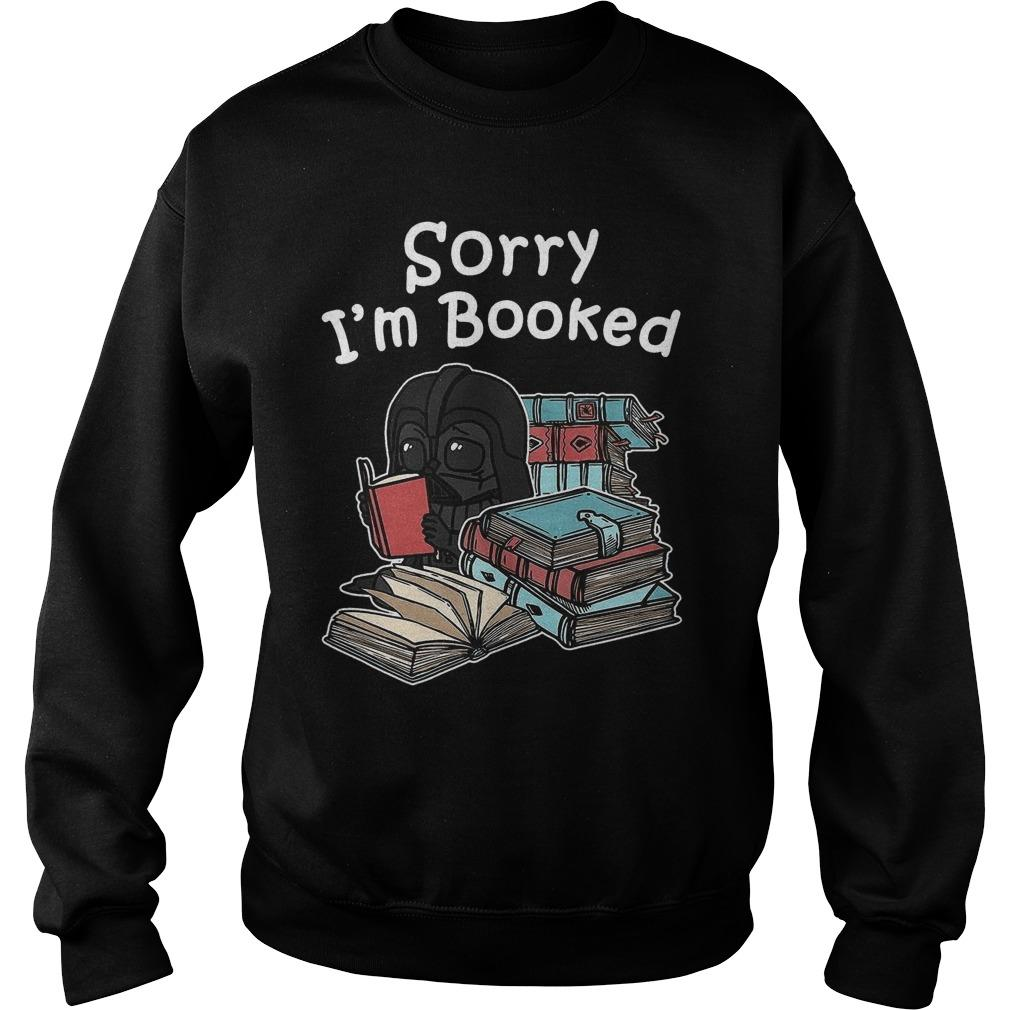Baby Darth Vader Sorry I'm Booked Sweater