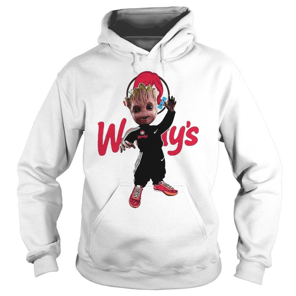 Baby Groot Wendy's Hoodie