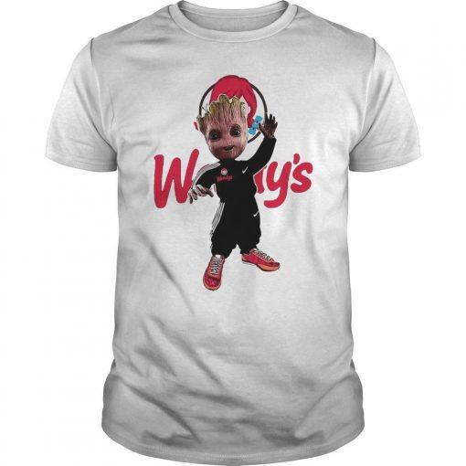 Baby Groot Wendy's Shirt