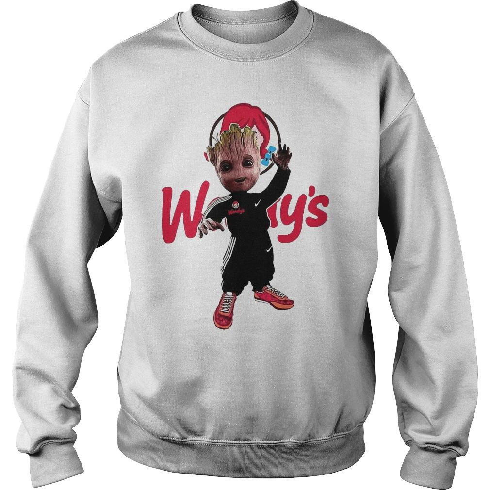 Baby Groot Wendy's Sweater