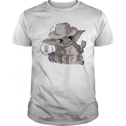 Baby Yoda Hugging Boba Fett Shirt