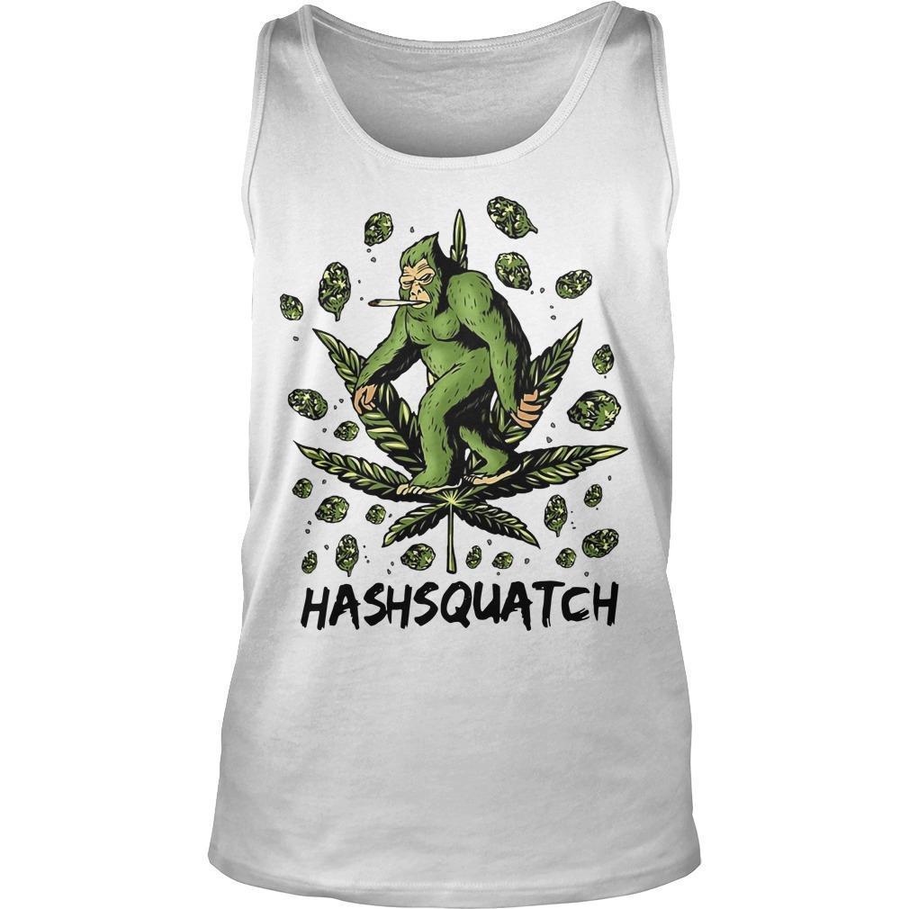 Cannabis Hashsquatch Tank Top