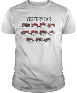 Car Plows Rickshaw Farm Vehicle Yesteryear Shirt