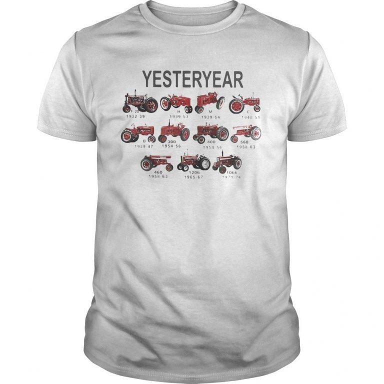 Car Plows Rickshaw Farm Vehicle Yesteryear Shirt