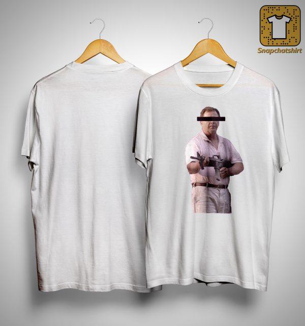Censored Ken With Gun Shirt