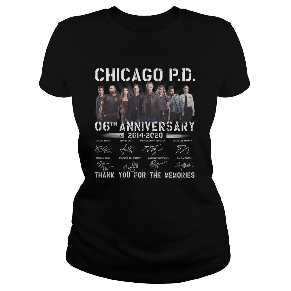 Chicago Pd 06th Anniversary Thank You For The Memories Longsleeve