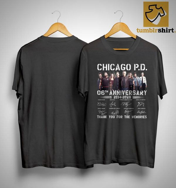 Chicago Pd 06th Anniversary Thank You For The Memories Shirt