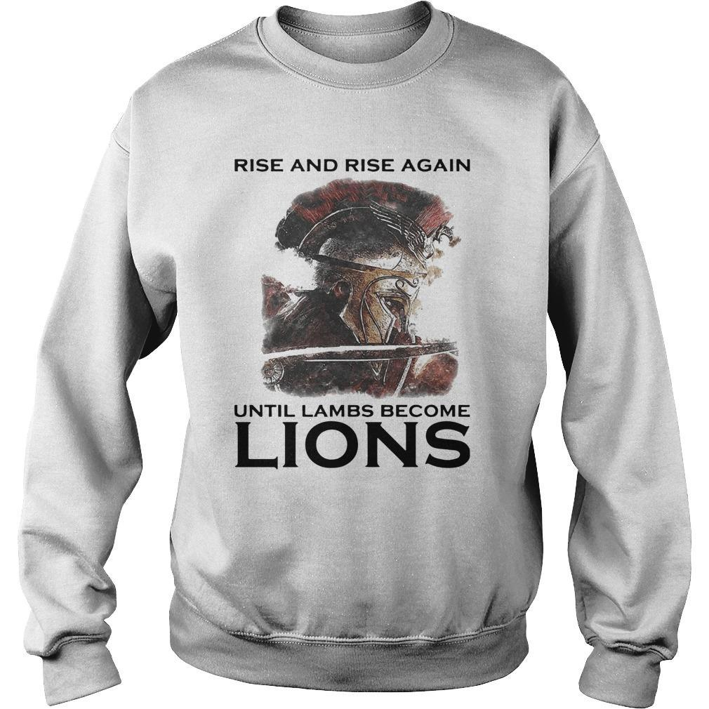 Combatant Rise And Rise Again Until Lambs Become Lions Sweater