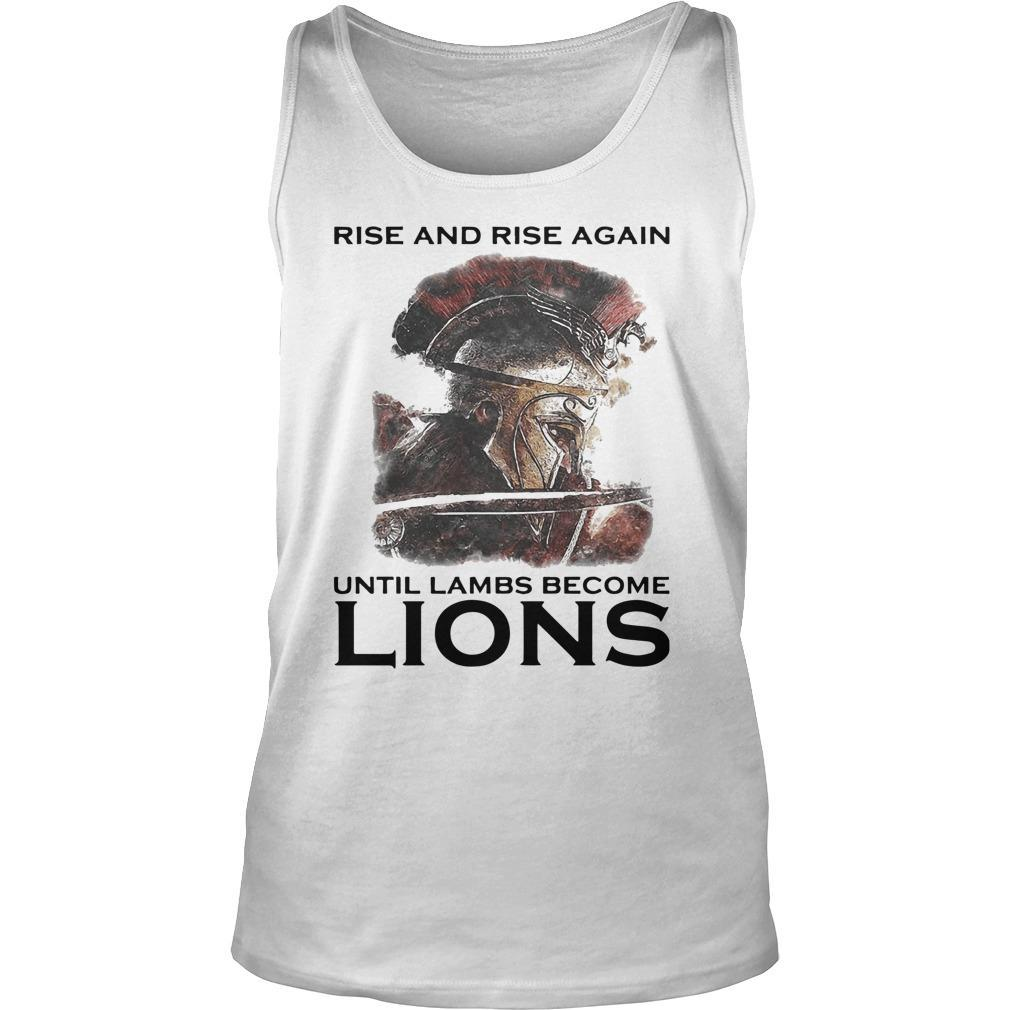 Combatant Rise And Rise Again Until Lambs Become Lions Tank Top