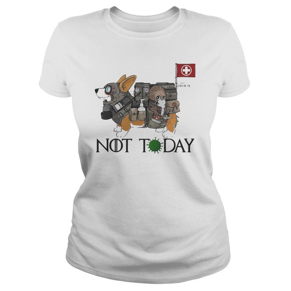Corgi Nurses Not Today Covid 19 Longsleeve