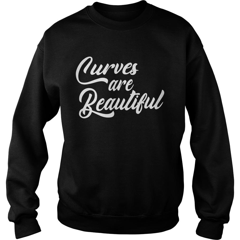 Curves Are Beautiful Sweater