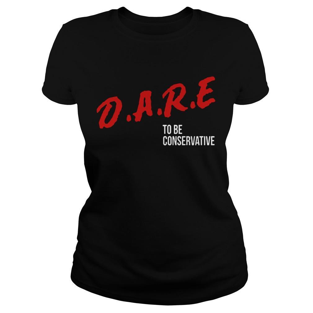 Dare To Be Conservative Longsleeve