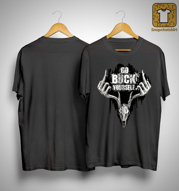 Deer Middle Finger Go Buck Yourself Shirt