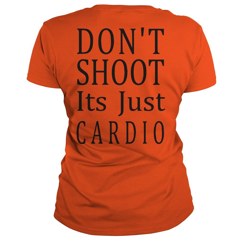Don't Shoot Its Just Cardio Tank Top