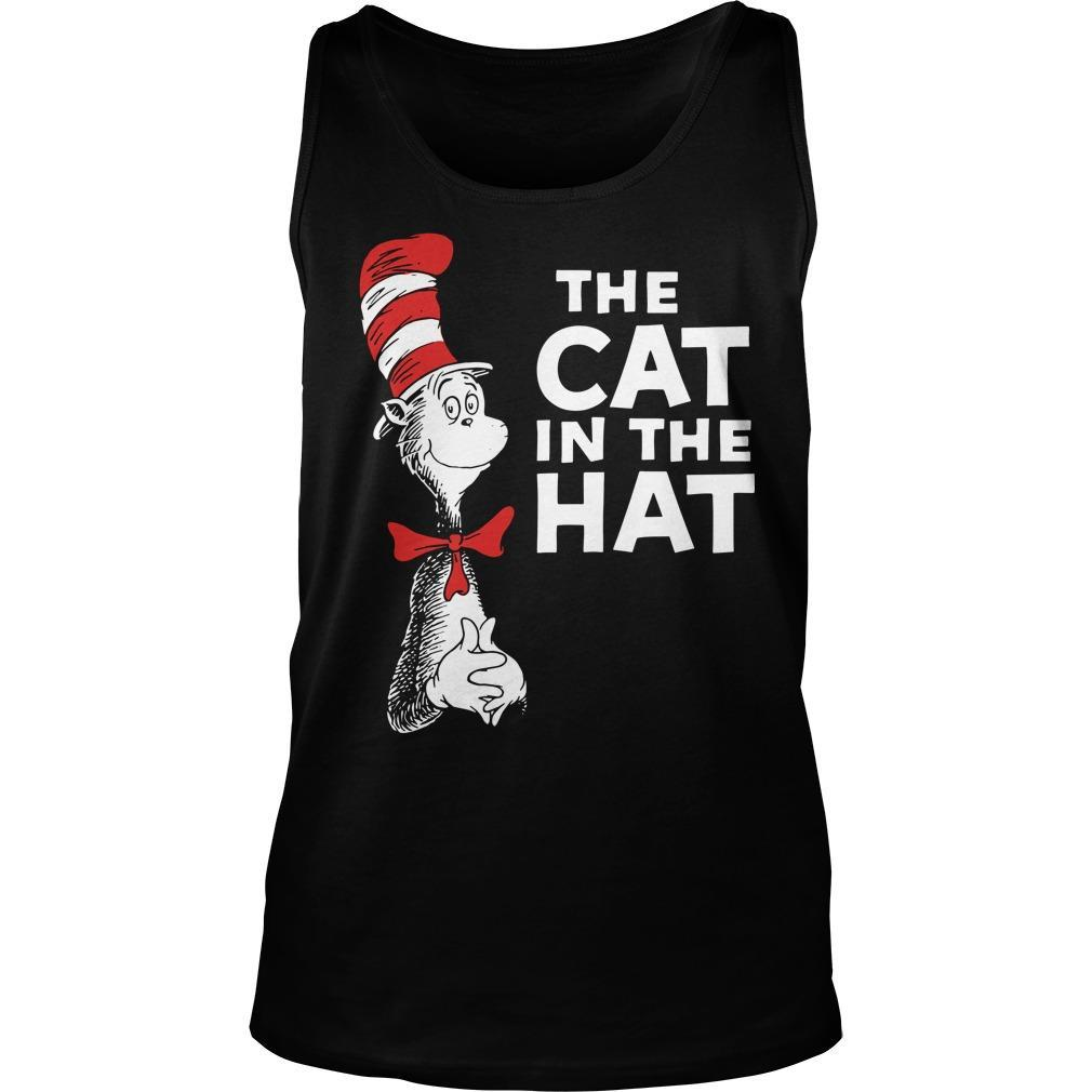 Dr Seuss The Cat In The Hat Tank Top