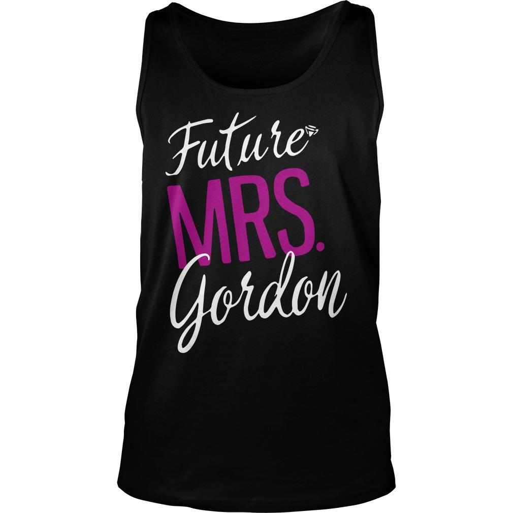 Future Mrs Gordon Tank Top
