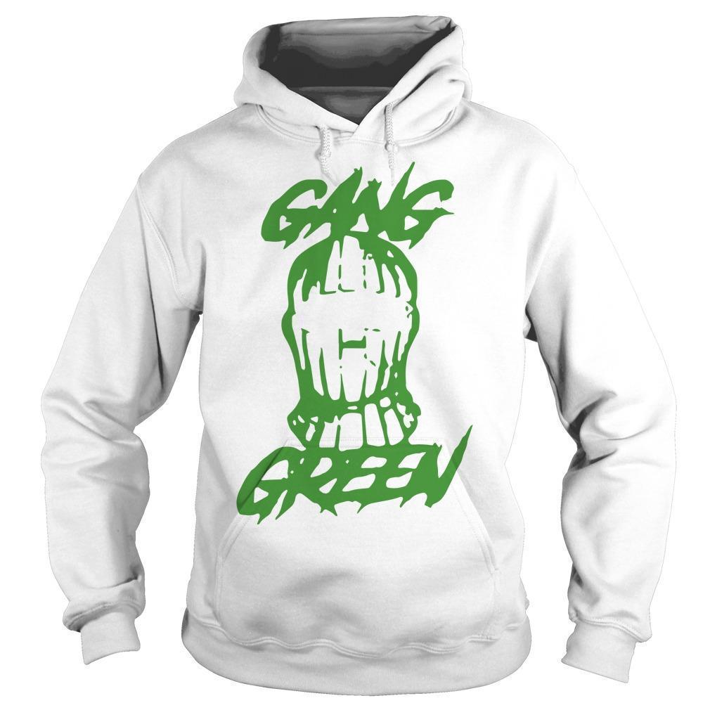 Gang Green Mask Hoodie