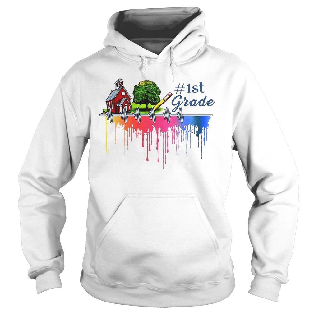 Gardening House Paint Color 1st Grade Hoodie