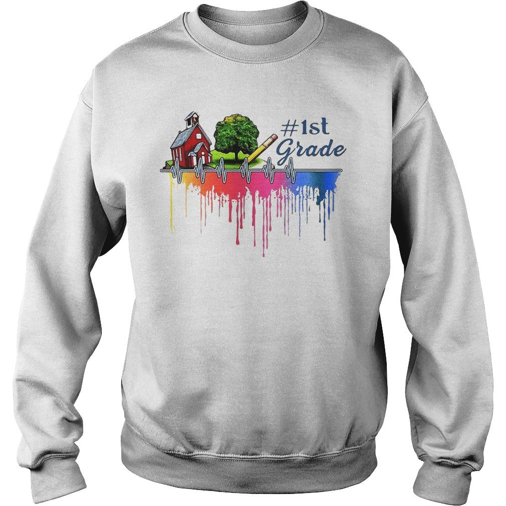 Gardening House Paint Color 1st Grade Sweater