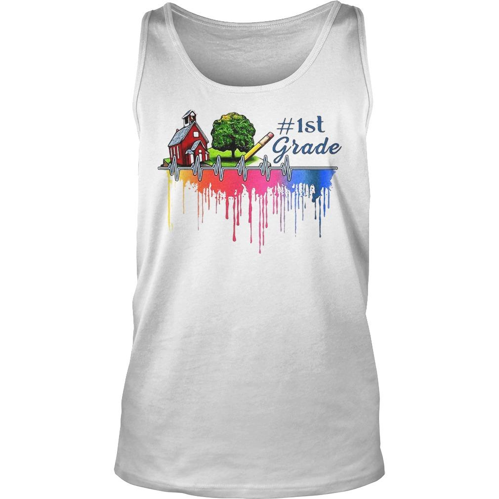Gardening House Paint Color 1st Grade Tank Top