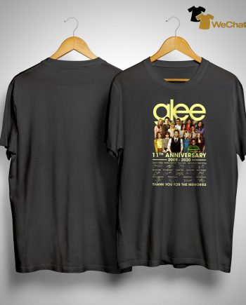 Glee 11th Anniversary Thank You For The Memories Shirt