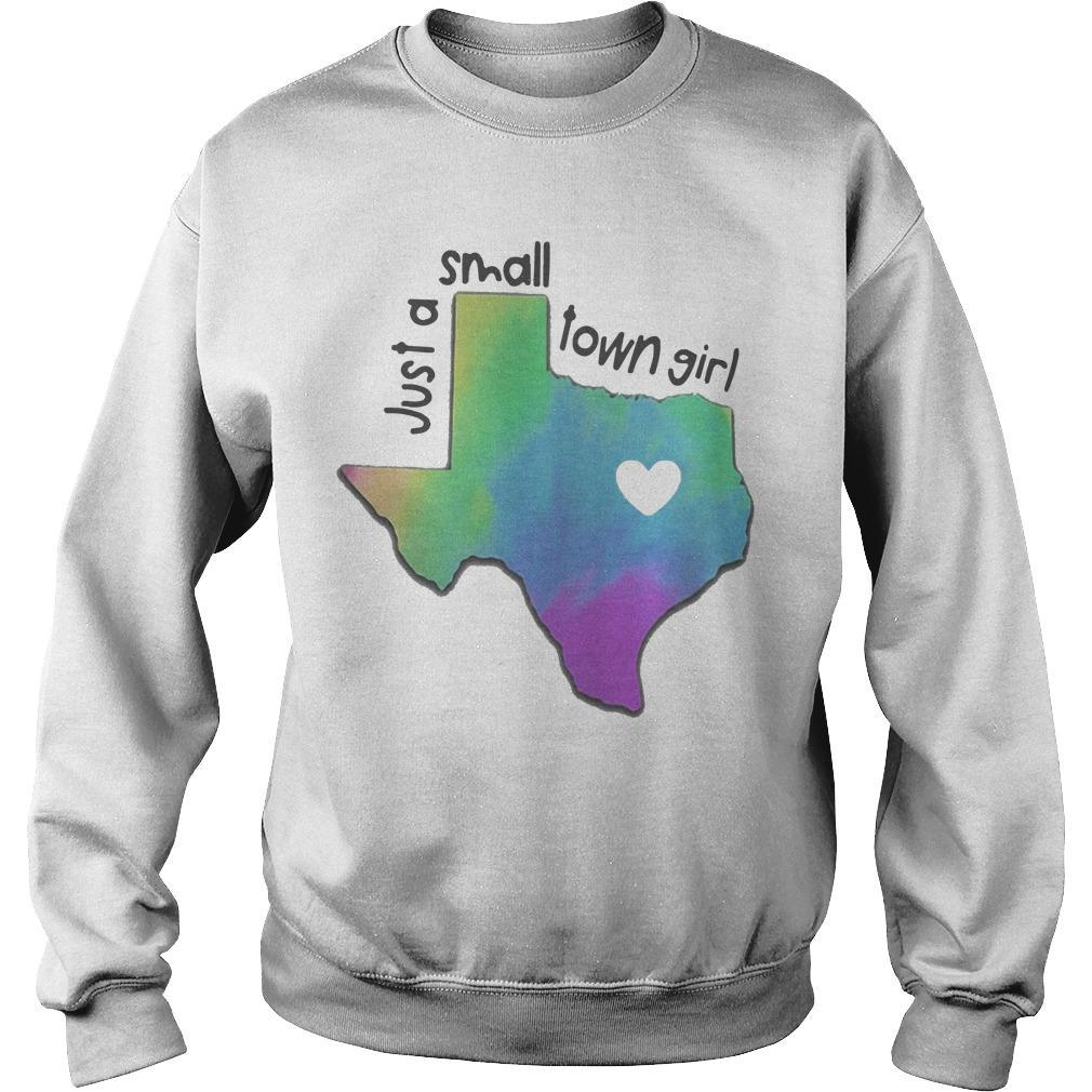 Heart Texas Just A Small Town Girl Sweater