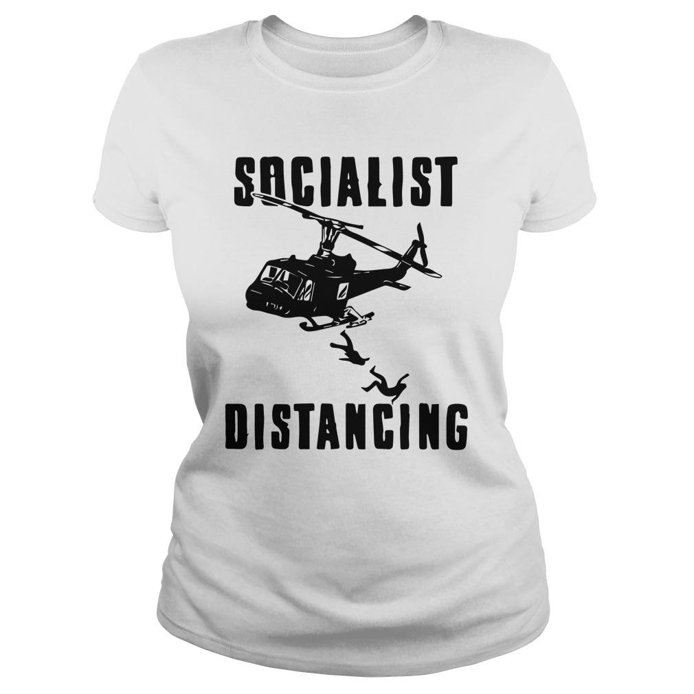Helicopter Socialist Distancing Longsleeve