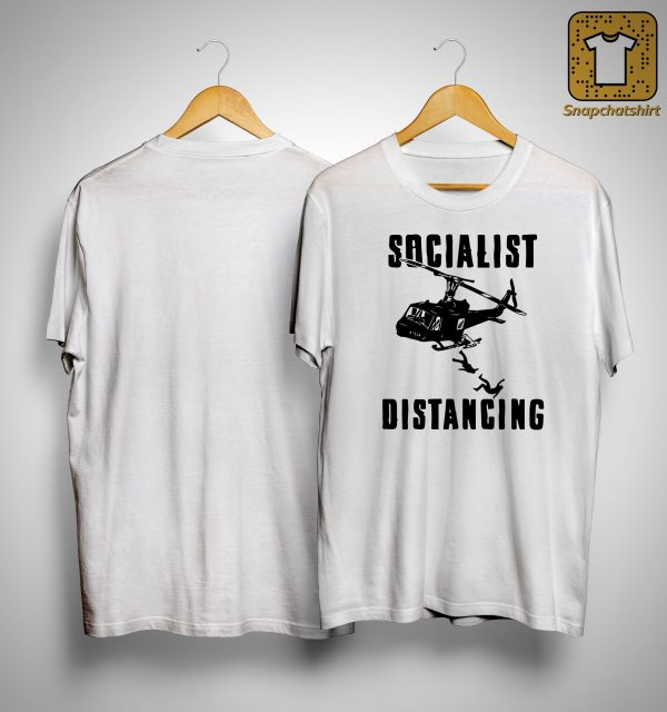 Helicopter Socialist Distancing Shirt
