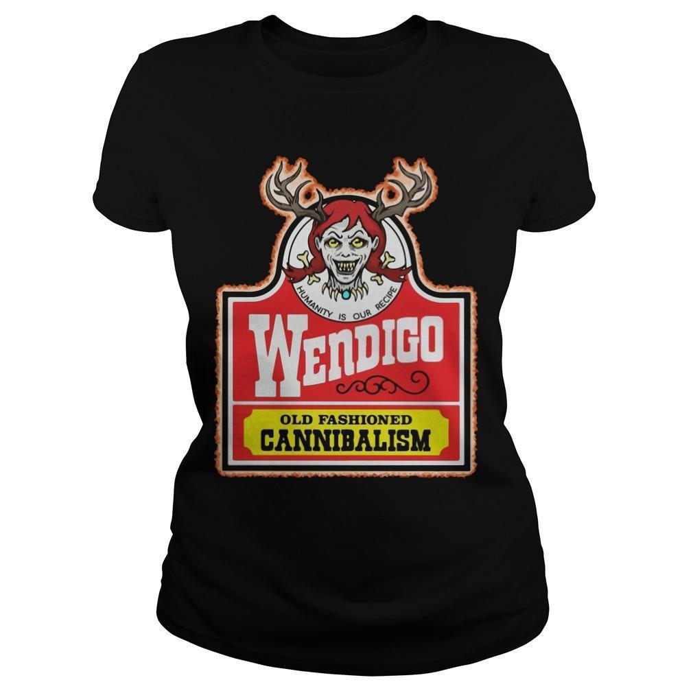 Humanity Is Our Recipe Wendigo Old Fashioned Cannibalism Longsleeve